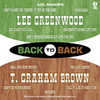 Back to Back - Lee Greenwood & T. Graham Brown (Re-Recorded Version)