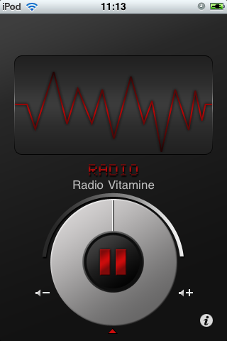 Radio Vitamine Screenshot