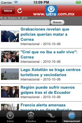 Ultra Noticias – Ultratelecom Screenshot