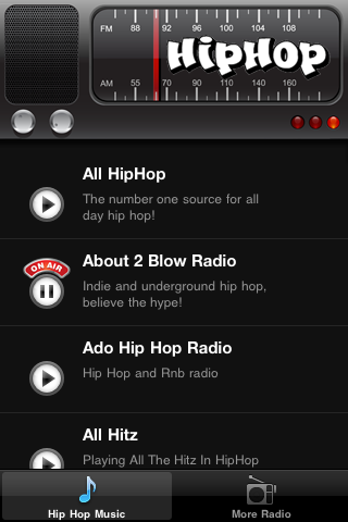 Hip Hop Radio FM – Mainstream & Underground Screenshot