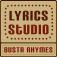 Busta Rhymes Lyrics Studio Icon