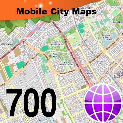 700 City Maps