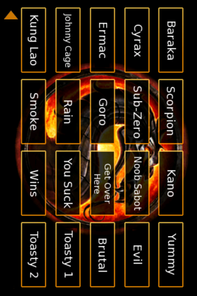 Mortal Kombat Soundboard Screenshot