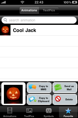 All-in-1 2D/3D/Text Emoticons Screenshot