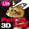 Bengal Petting Cat 3D REAL Lite Icon