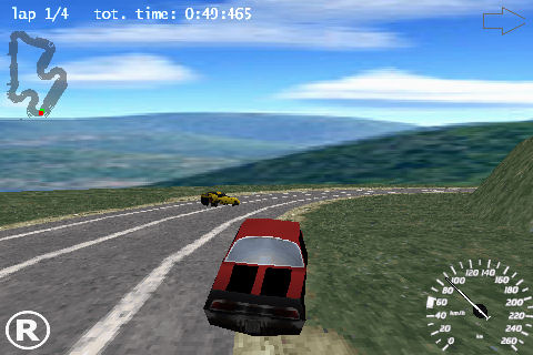 Head2Head 3D Racing Screenshot