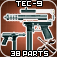 Tec-9 Disassembly 3D Icon