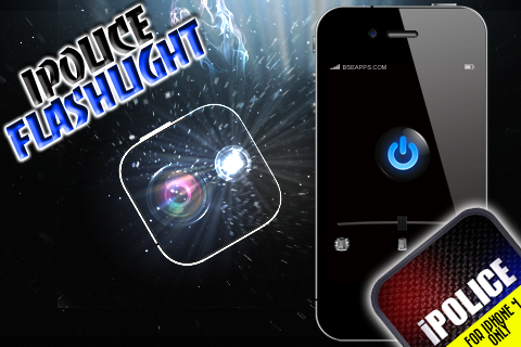 iPolice Flashlight Screenshot