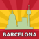 Barcelona Travel Guide Offline Icon