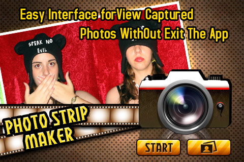 Photo Strip Maker – Capture 2 Pics In 1 Photo Screenshot