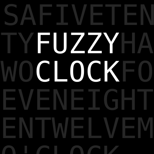 Fuzzy Clock - tells you the time in words on a nice designer display