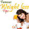 Famous weight loss tips Icon