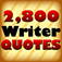 2,800 Writer Quotes Icon