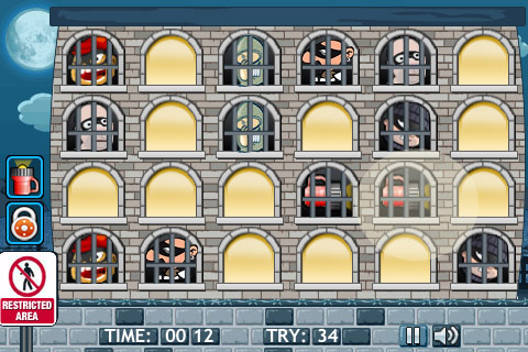 Catch A Thief – Addictive Memory Game Screenshot