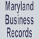 Maryland Business Records Search Icon