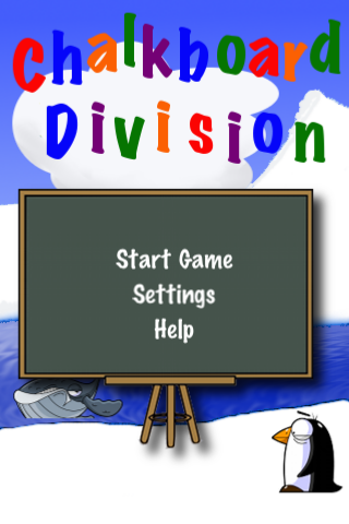 Chalkboard Division Screenshot