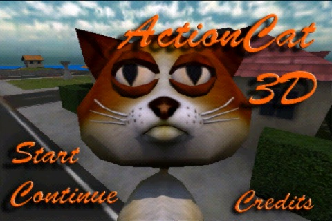 Action Cat 3D Free Screenshot