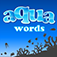 Aqua Words Icon