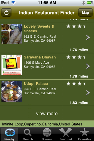 Indian Restaurant Finder 2.0