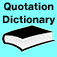 Quotation Dictionary and Trivia