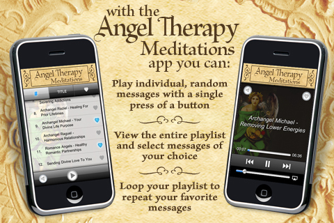 Angel Therapy Meditations – Doreen Virtue, Ph.D. Screenshot