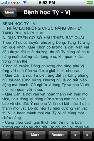 Đông Y Screenshot
