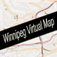 Winnipeg, Manitoba Virtual Map Icon