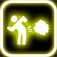 Glow Fart Button Icon