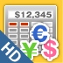 Currency Calc HD Icon