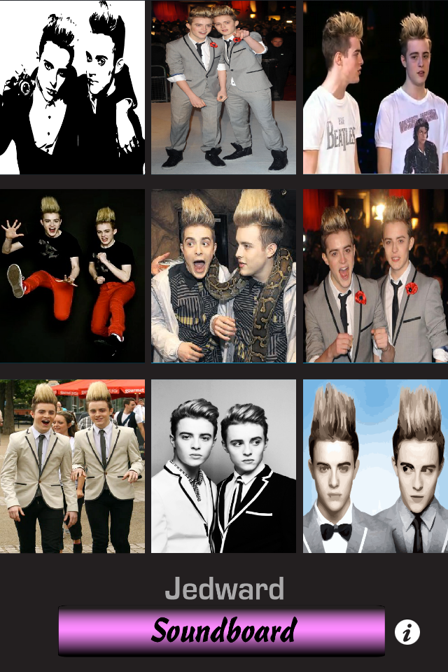 Jedward Soundboard Screenshot