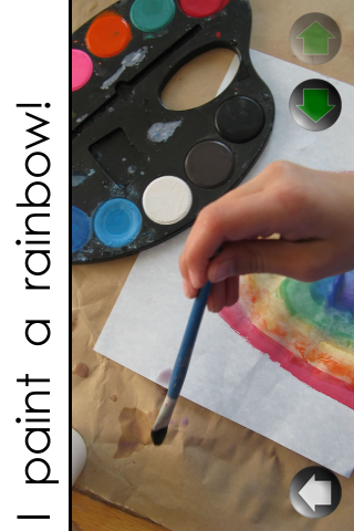 I Paint a Rainbow! – Level 2(B) – Learn To Read Books Screenshot