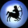Sagittarius Night Light Icon