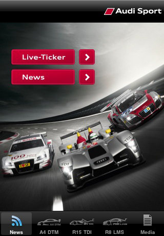 Audi Sport Screenshot