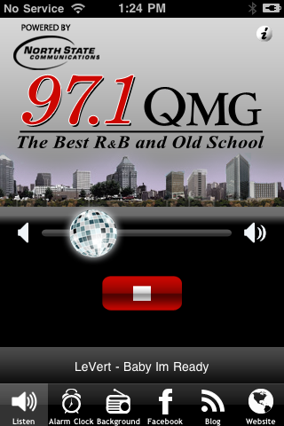 97.1 QMG, The Best R&B and Old School Screenshot