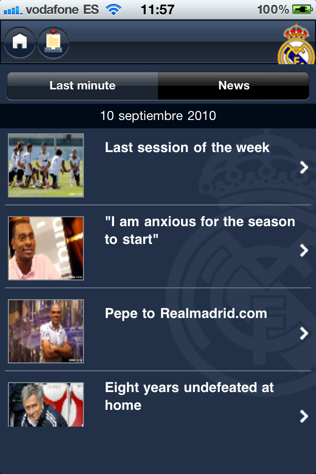 MyMadrid Screenshot