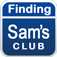 Finding Sams Club
