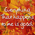 Everything that Happens to Me is Good HD Icon