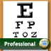 Eye Chart Professional Icon