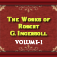 The Works of Robert G. Ingersoll Volume I Icon