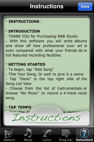 R&B STUDIO – Free Screenshot