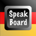 German Speak Board Icon