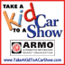 SEMA Take a Kid to a Car Show coloring book for...