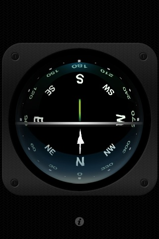 3D Compass for sailing or anything Screenshot