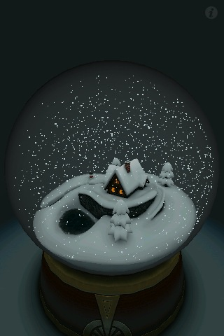 3D Snow Globe Screenshot
