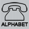 Alphabet Over Phone