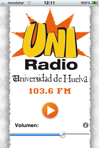 Image of UniRadio Huelva for iPhone