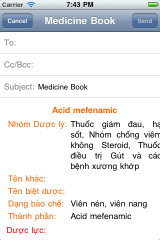 Medicine Book 3 Screenshot