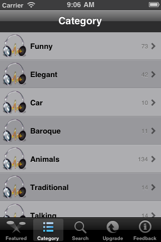 All-IN-1 Ringtones Box Screenshot