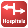 Hospitals – Find your nearest Hospitals Icon