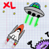 Doodle Galaxies XL – Shoot em up action for iPad Icon